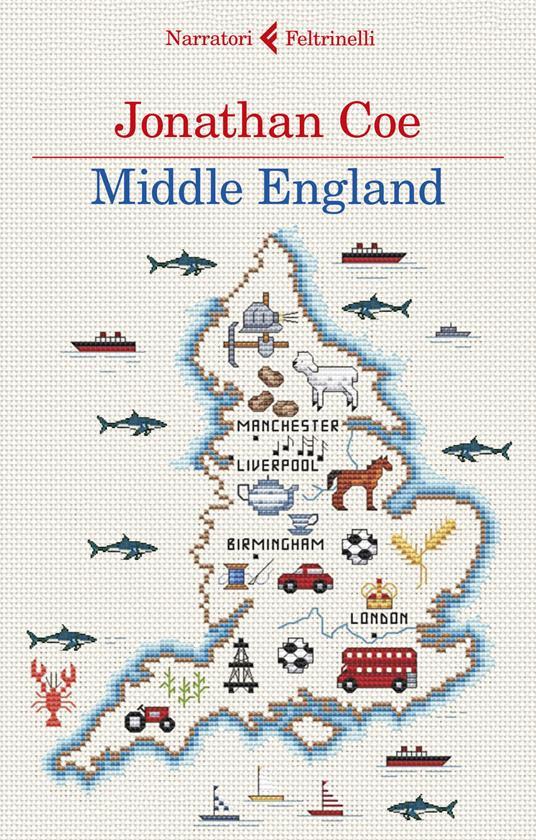 Middle England - Jonathan Coe - copertina