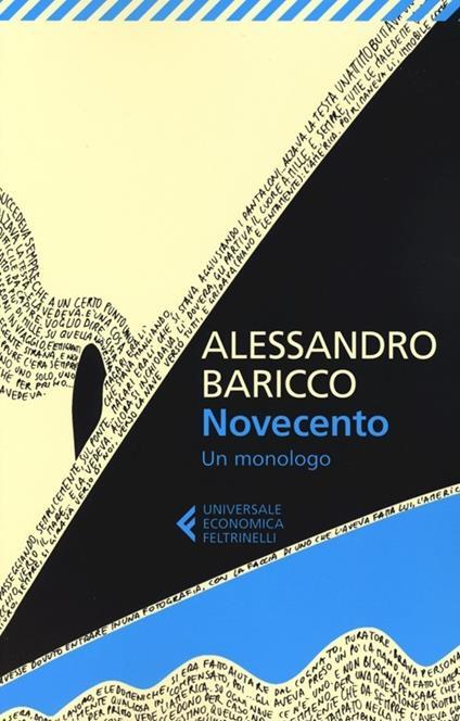 Novecento. Un monologo - Alessandro Baricco - copertina