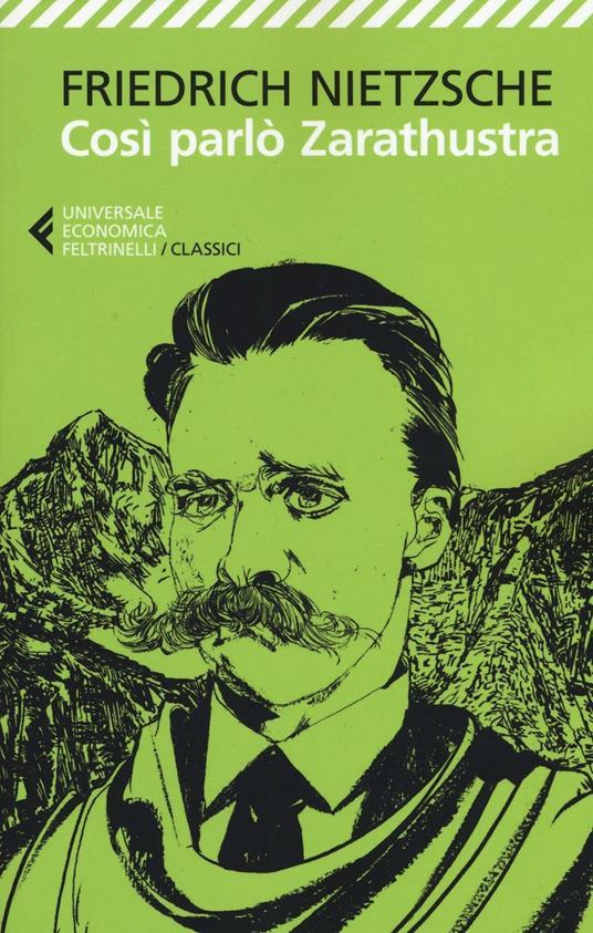 Così parlò Zarathustra - Friedrich Nietzsche - copertina