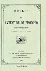 Le avventure di Pinocchio. Storia di un burattino (rist. anast. 1883)
