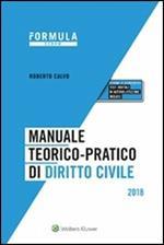 Manuale teorico-pratico di diritto civile 2018