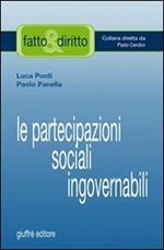 Le partecipazioni sociali ingovernabili