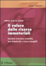 Il valore delle risorse immateriali. Equilibrio economico aziendale, beni immateriali e risorse intangibili