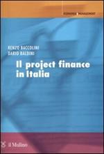 Il project finance in Italia