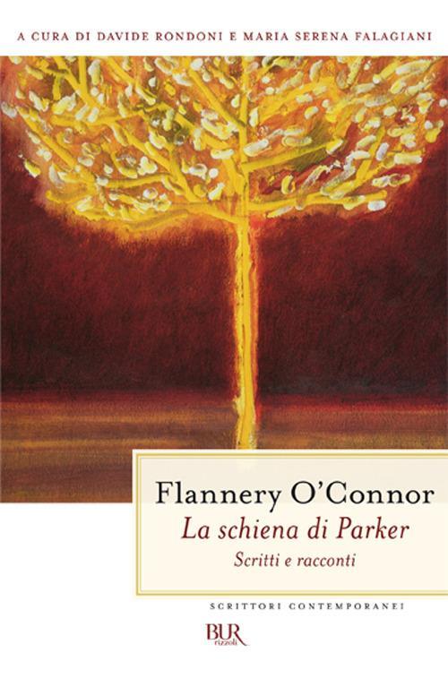 La schiena di Parker - Flannery O'Connor - copertina