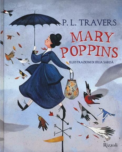 Mary Poppins - P. L. Travers - copertina