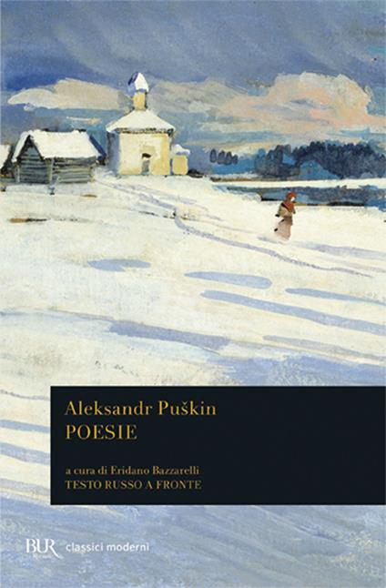 Poesie. Testo russo a fronte - Aleksandr Sergeevic Puskin - copertina