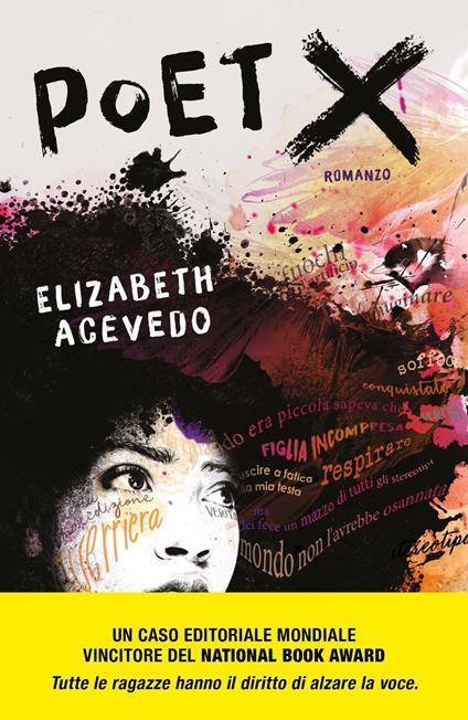 Poet X - Elizabeth Acevedo - copertina