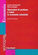 Operazioni di gestione e valori in economia aziendale