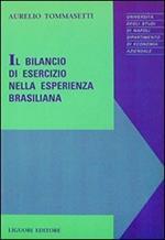 Il bilancio di esercizio nella esperienza brasiliana
