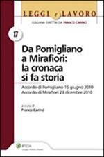Da Pomigliano a Mirafiori. La cronaca si fa storia. Accordo di Pomigliano 15 giugno 2010. Accordo di Mirafiori 23 dicembre 2010