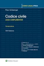 Codice civile. Leggi complementari. Giurisprudenza