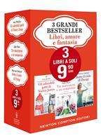3 grandi bestseller. Libri, amore e fantasia: Gli adorabili gatti di Nancy Jones-Tre matrimoni e un temporale-Sotto il cielo di Parigi