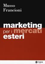 Marketing per i mercati esteri
