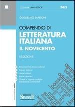 Compendio di letteratura italiana. Il Novecento