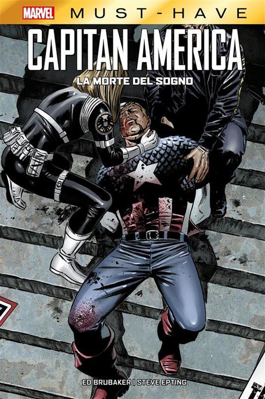 La morte del sogno. Capitan America - Ed Brubaker - copertina