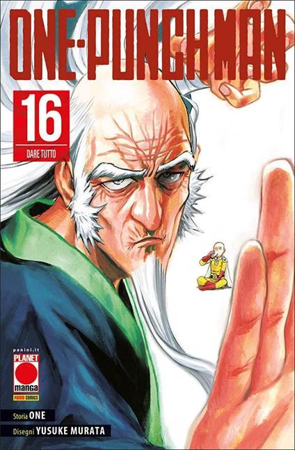 One-Punch Man. Vol. 16: Dare tutto - One - copertina