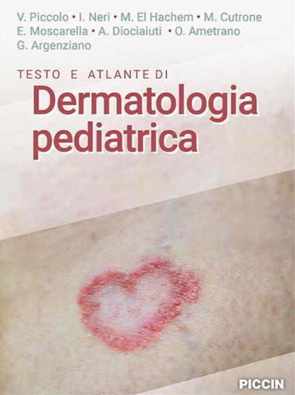 Testo e atlante di dermatologia pediatrica - copertina
