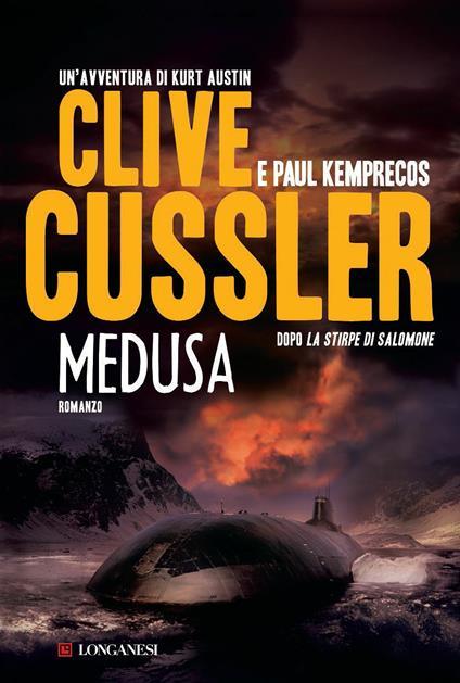 Medusa - Clive Cussler,Paul Kemprecos - copertina