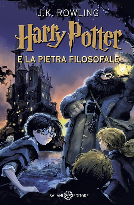 Harry Potter e la pietra filosofale. Nuova ediz.. Vol. 1 - J. K. Rowling - copertina