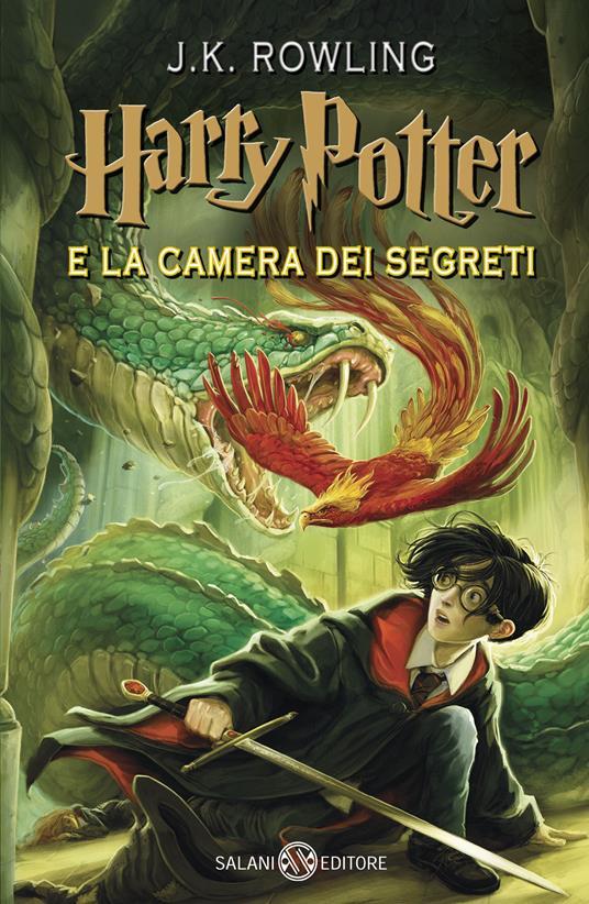 Harry Potter e la camera dei segreti. Nuova ediz.. Vol. 2 - J. K. Rowling - copertina