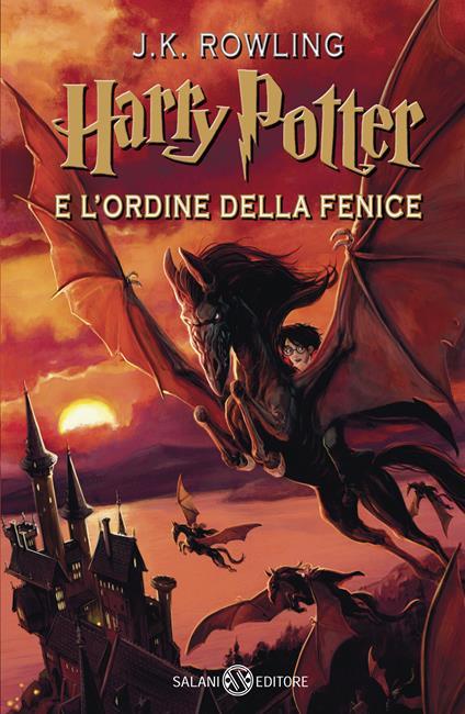Harry Potter e l'Ordine della Fenice. Nuova ediz.. Vol. 5 - J. K. Rowling - copertina