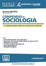 Compendio di sociologia. Con espansione online