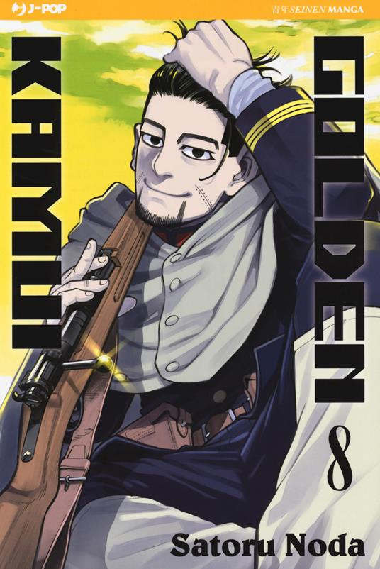 Golden kamui. Vol. 8 - Satoru Noda - copertina