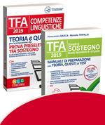 TFA. Docenti di sostegno. Scuola secondaria di I e II grado-TFA. Competenze linguistiche. Teoria e quiz per la preparazione alla prova preselettiva. Kit