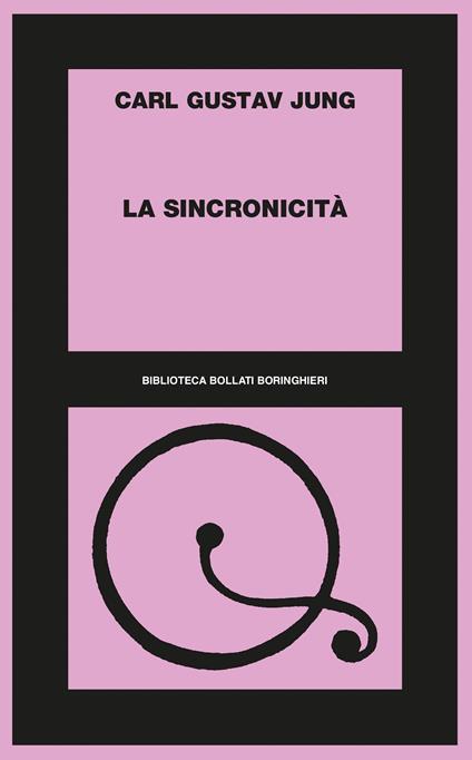 La sincronicità - Carl Gustav Jung - copertina