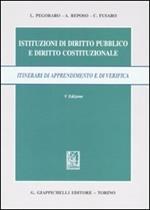 Istituzioni di diritto pubblico e diritto costituzionale. Itinerari di apprendimento e di verifica