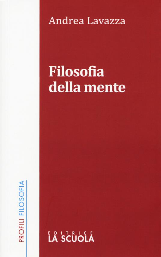 Filosofia della mente - Andrea Lavazza - copertina