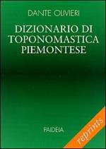 Dizionario di toponomastica piemontese