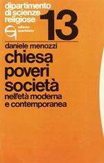 Chiesa, poveri, società nell'età moderna e contemporanea