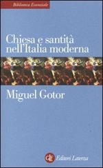 Chiesa e santità nell'Italia moderna