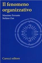 Il fenomeno organizzativo