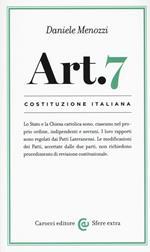 Costituzione italiana: articolo 7