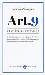 Costituzione italiana: articolo 9