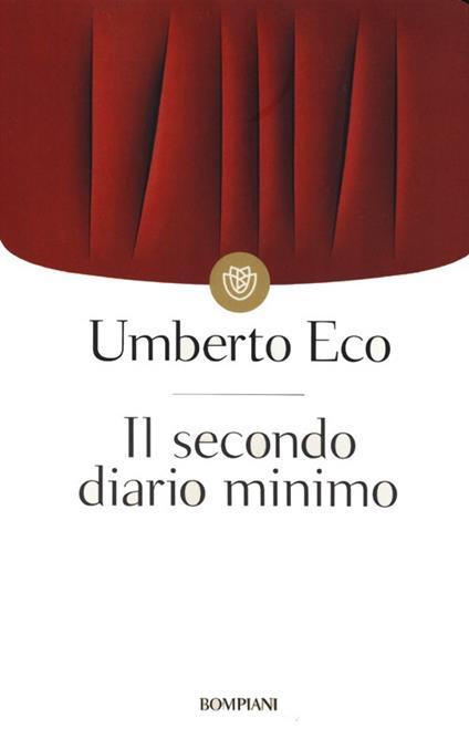 Il secondo diario minimo - Umberto Eco - copertina