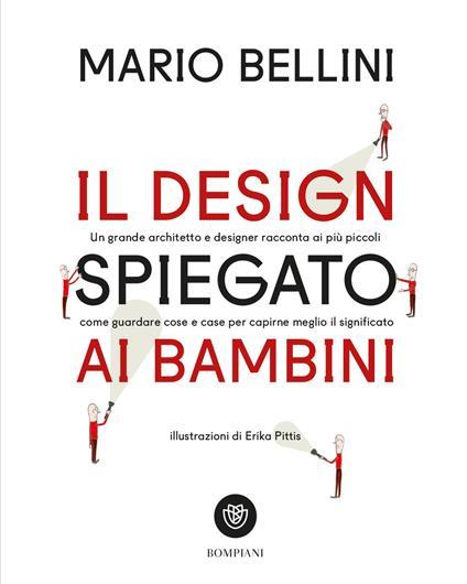 Il design spiegato ai bambini - Mario Bellini - copertina
