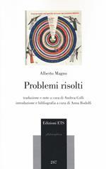 Problemi risolti. Testo latino a fronte