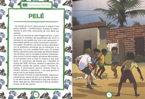 Campioni del calcio di ieri e oggi. Ediz. a colori - Mark Menozzi - 2