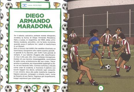 Campioni del calcio di ieri e oggi. Ediz. a colori - Mark Menozzi - 3