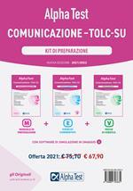 Alpha Test. Comunicazione. TOLC-SU. Kit di preparazione. Nuova ediz. Con software di simulazione