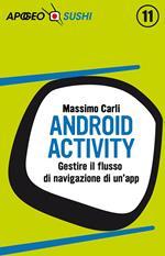 Android activity. Gestire il flusso di navigazione di un'app