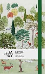 Agenda White Star 2021, 12 mesi Bosco incantato - 15,5x9,5 cm