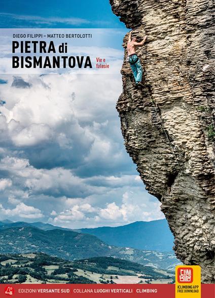 Pietra di Bismantova. Vie e falesie - Diego Filippi,Matteo Bertolotti - copertina