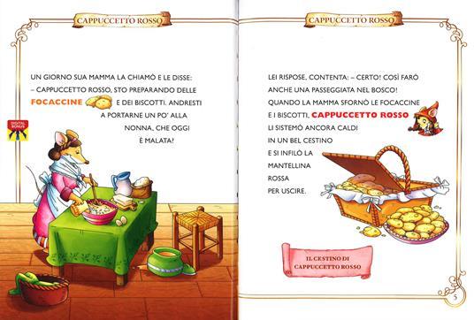 Cappuccetto Rosso. Con App per tablet e smartphone. Ediz. illustrata - Geronimo Stilton - 2
