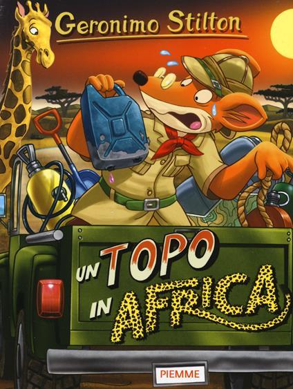 Un topo in Africa - Geronimo Stilton - copertina