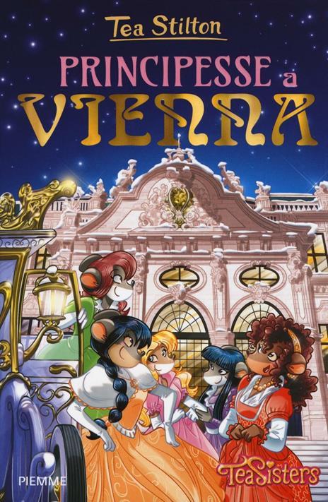 Principesse a Vienna - Tea Stilton - copertina